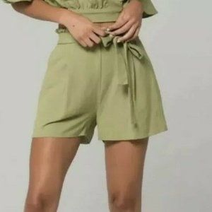 Band of Gypsies Cadiz Linen Blend Shorts NWT